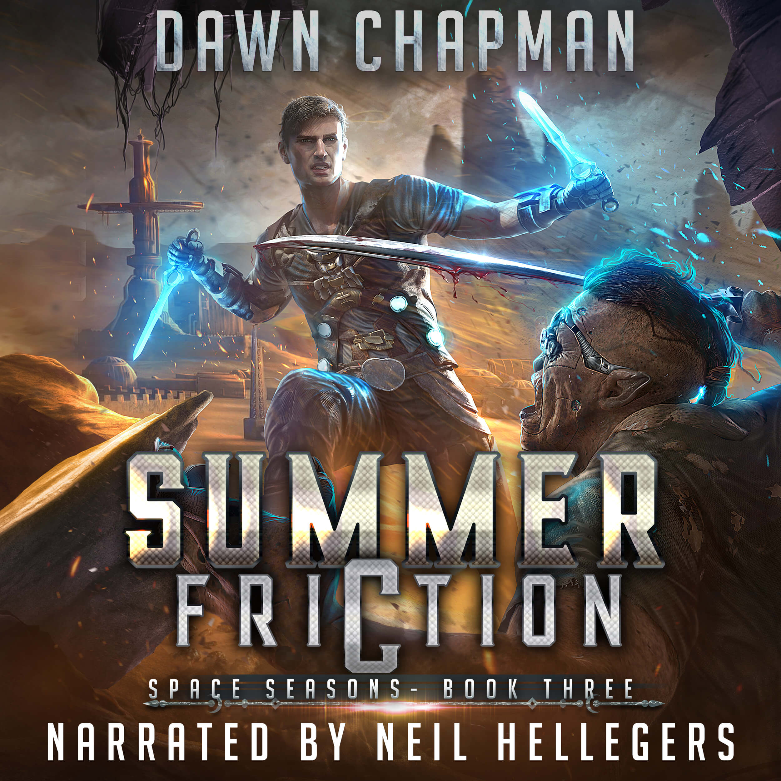 3 Summer Friction Audiobook cover